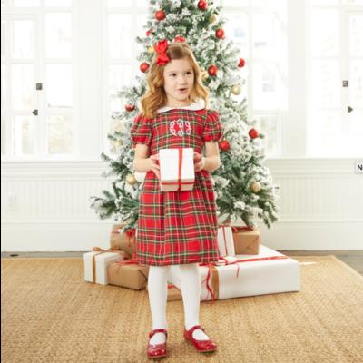 Nantucket Kids Noelle Dress Tartan