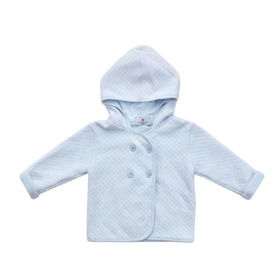 Nantucket Kids Blue Quilted Peacoat