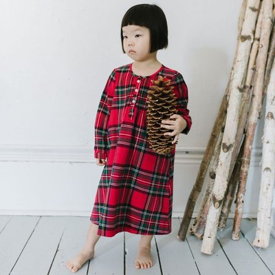 Petite Plume Imperial Tartan Nightgown