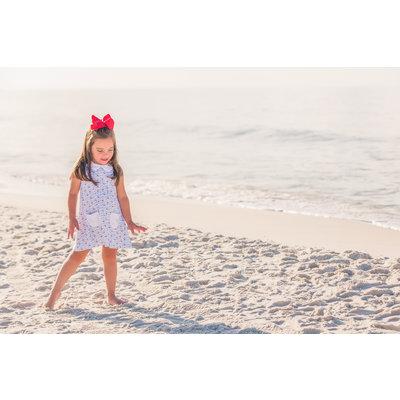 The Proper Peony Piper Pocket Dress Nautical