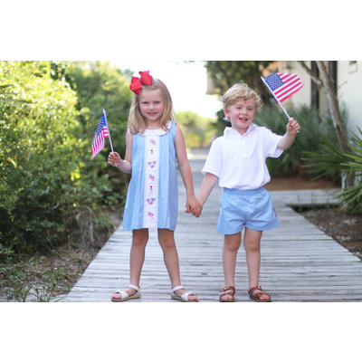 Christian Elizabeth & Co. Patriotic Parade Dress