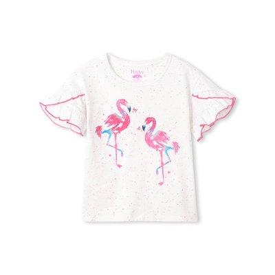 Hatley Fancy Flamingo Flutter Tee