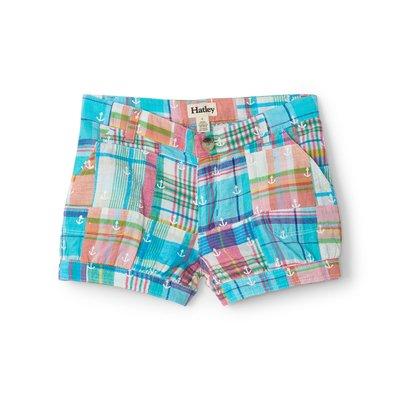 Hatley Seashore Madras Plaid Shorts