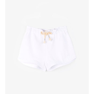 Hatley White Terry Shorts