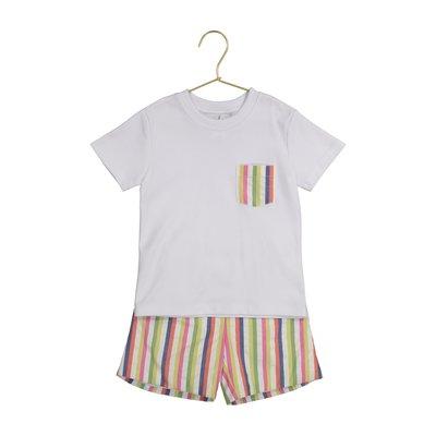 Petit Atelier Jean Boho Stripe Short Set