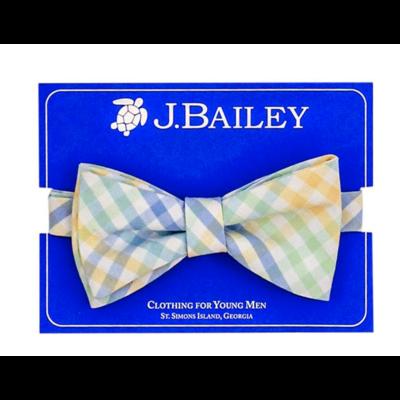 J. Bailey Pier Plaid Bow Tie