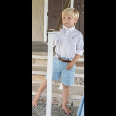 J. Bailey Sky Linen Shorts