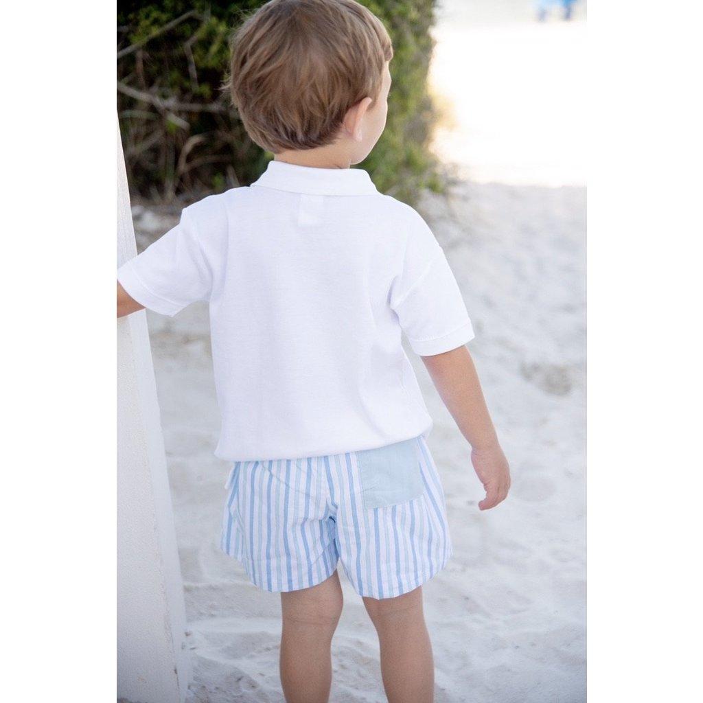 James & Lottie Conrad Shorts Seaside Stripe
