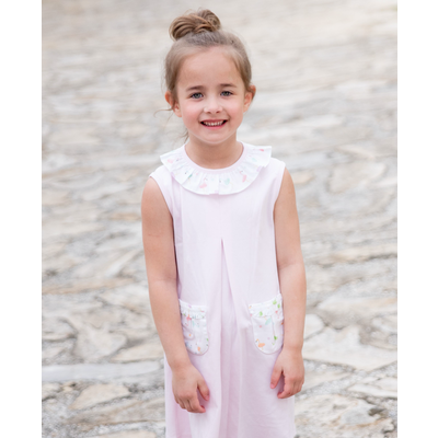 Pre-Order James & Lottie Betsy Beach Dress Flamingos