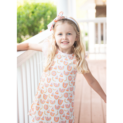 Pre-Order James & Lottie Whitney Watermelon Dress