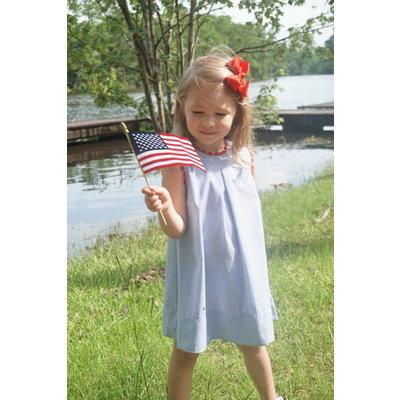 Lullaby Set Caroline Dress Navy Stripe