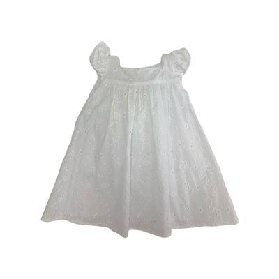 Funtasia Too! White Flower Eyelet Dress