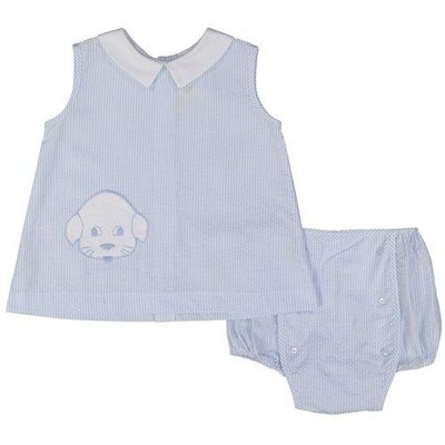 Pixie Lily Puppy Apron & Bloomer