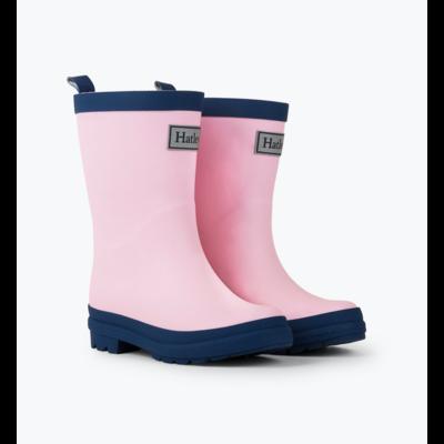 Hatley Pink & Navy Matte Rain Boot
