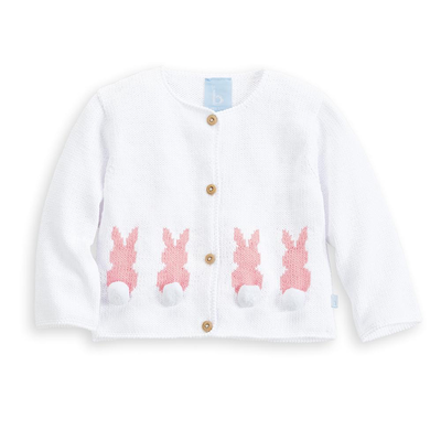 Bella Bliss Cottontail Cardigan Pink
