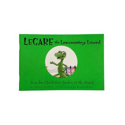 Legare the Lowcountry Lizard Book
