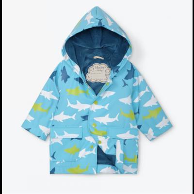 Hatley Great White Sharks Infant Raincoat