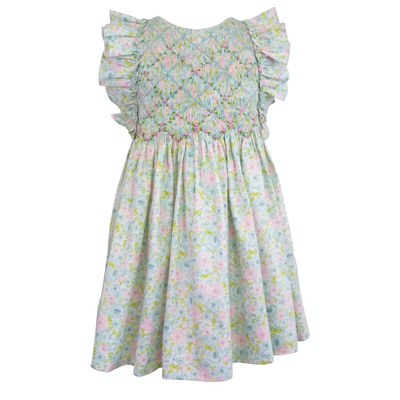 Marco & Lizzy April Floral Smock Dress