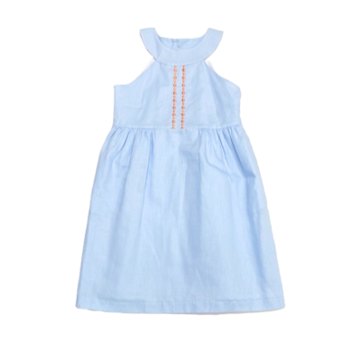 Gabby Embroidered Harbor Dress
