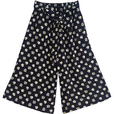 Joyous & Free Daisy Black Bound Pant