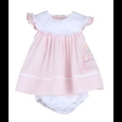 Sophie & Lucas Birthday Girl Dress Pink