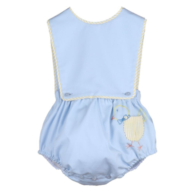 Sophie & Lucas Pocket Peep Boy Overall