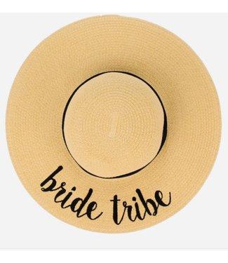 Wide Brim Hat BRIDE TRIBE
