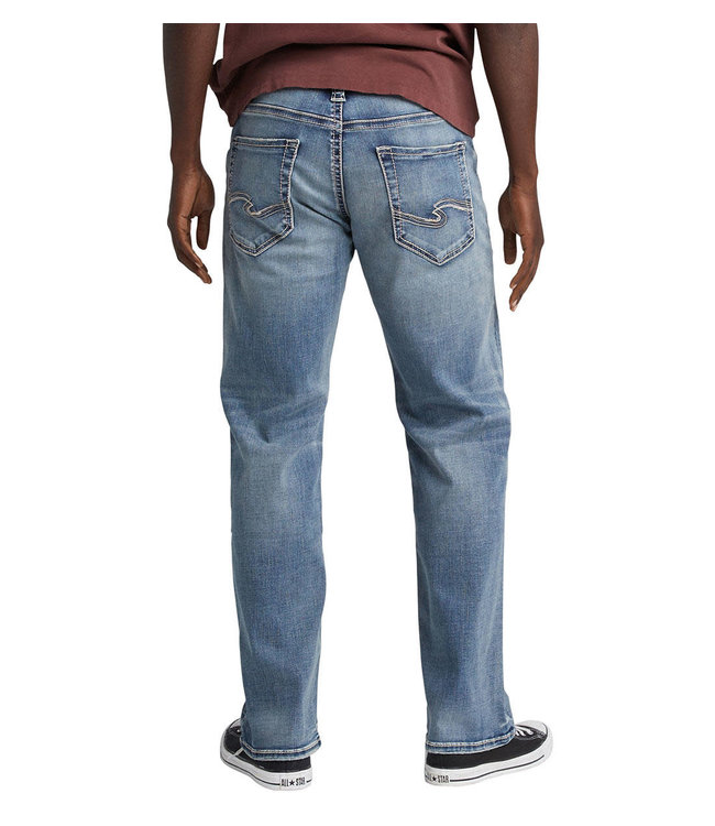 Silver Jeans Co. Zac Relaxed Fit Straight Leg Jeans