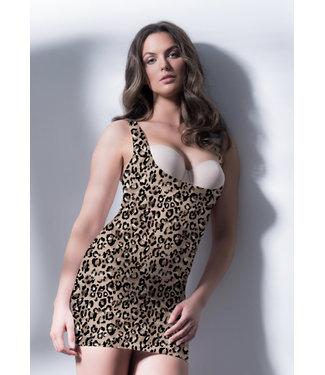 BodyHush SexySwept Away Slip Leopard