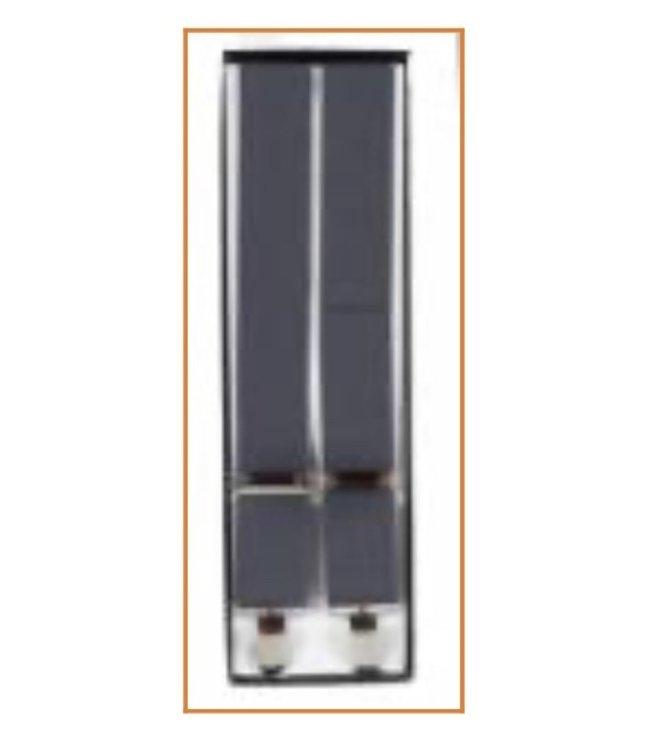 Suspenders (4 Clip) Dark Grey