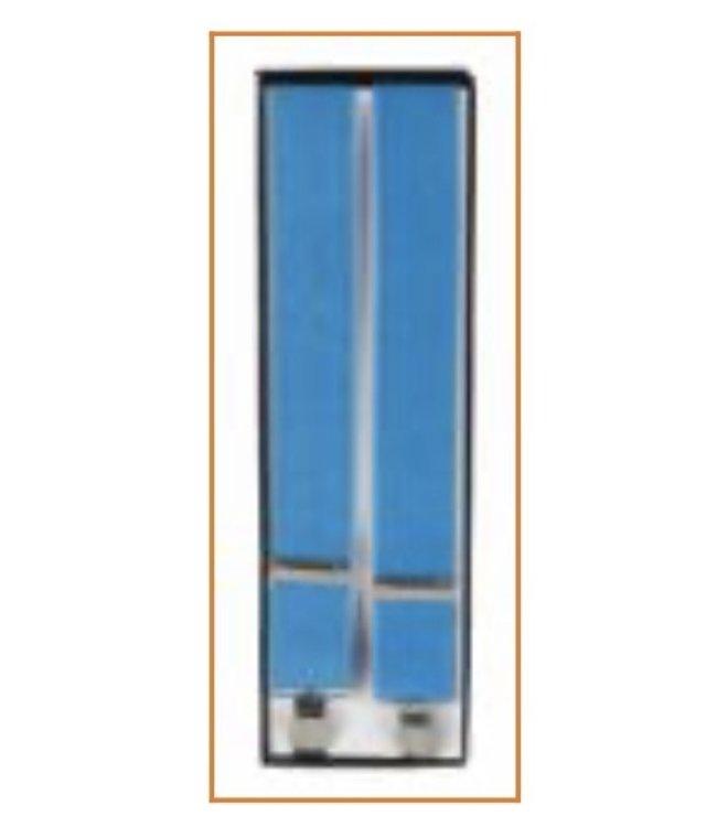 Suspenders (4 Clip) Turquoise