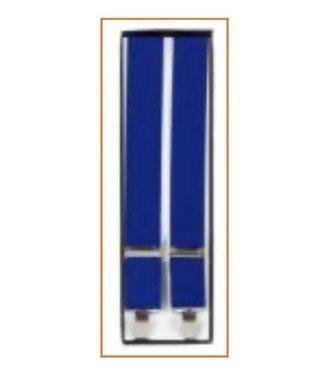Suspenders (4 Clip) Royal Blue