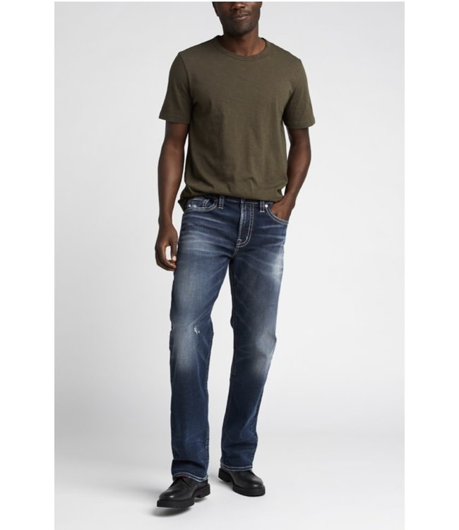 Silver Jeans Co. GORDIE Loose Fit Straight Leg Jeans