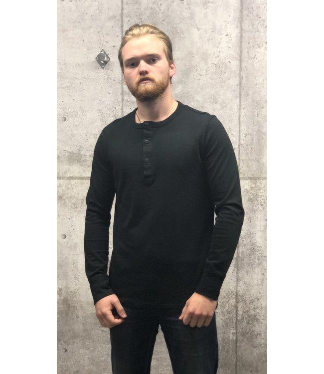 Selected Henley BLACK