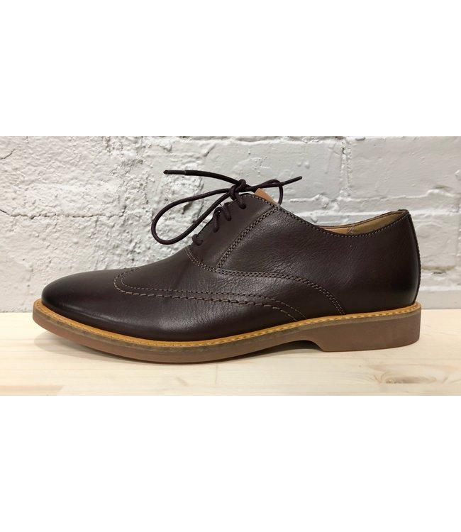 Clarks Atticus VIBE Burgundy Leather