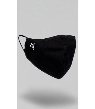 22Fresh Face Mask BLACK