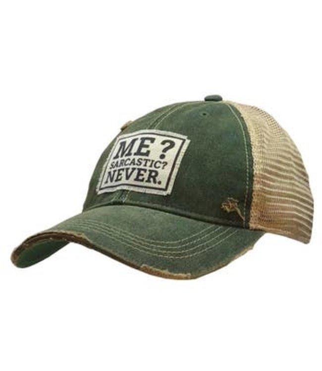 Vintage Life Me? Sarcastic? Hat