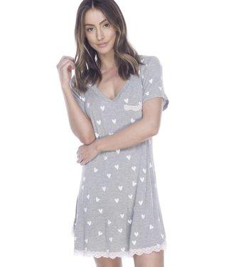 HoneyDew Intimates All American Rayon & Lace Sleepshirt REG $55.00