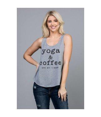L.A. Soul Yoga & Coffee Tank Top
