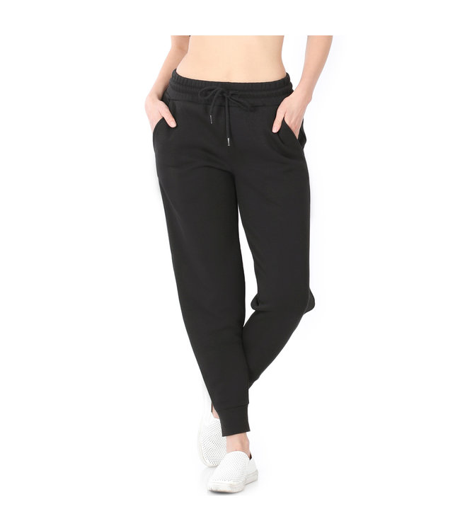 #wearfnf FRENCH TERRY Relaxed Fit Jogger Sweatpant - BLACK