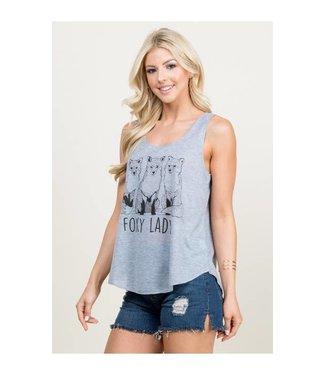 L.A. Soul Foxy Lady Tank Top