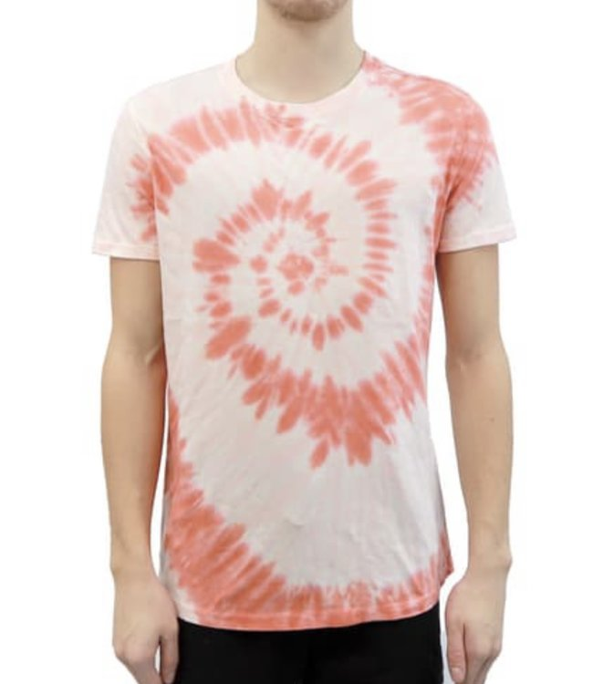 HEDGE Knit T-Shirt - CORAL