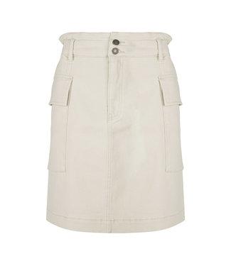 Esqualo Paperbag Pocket Skirt - NATURAL