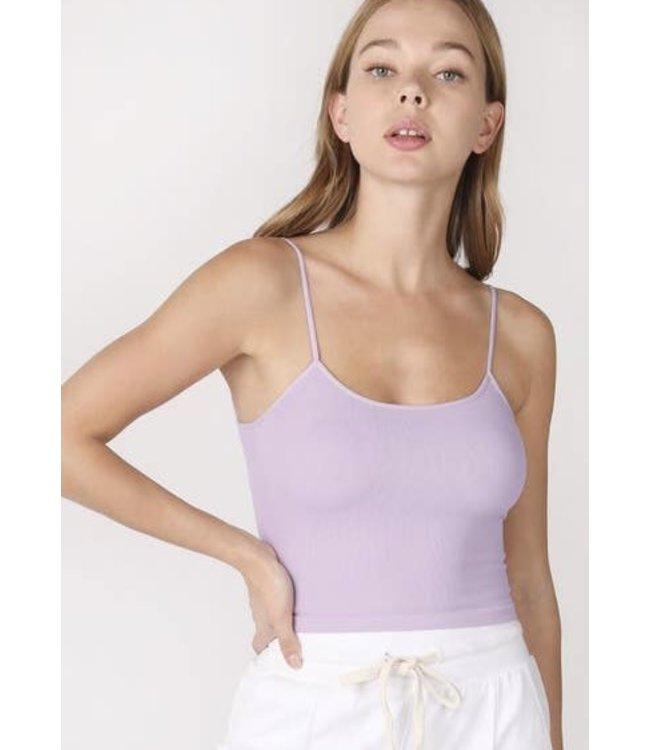 #wearfnf Low Back Crop Top - LAVENDER FROST