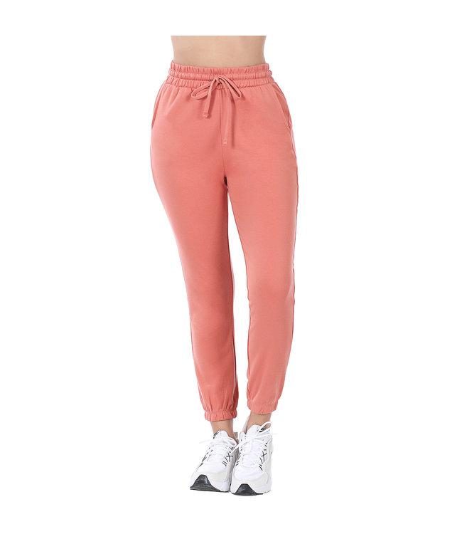 #wearfnf Cotton Jogger Sweatpant - ASH ROSE