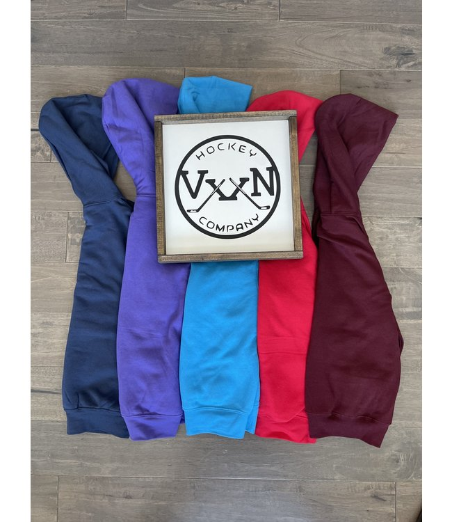 Vixxon Hockey Company Youth Hoodie - MAROON