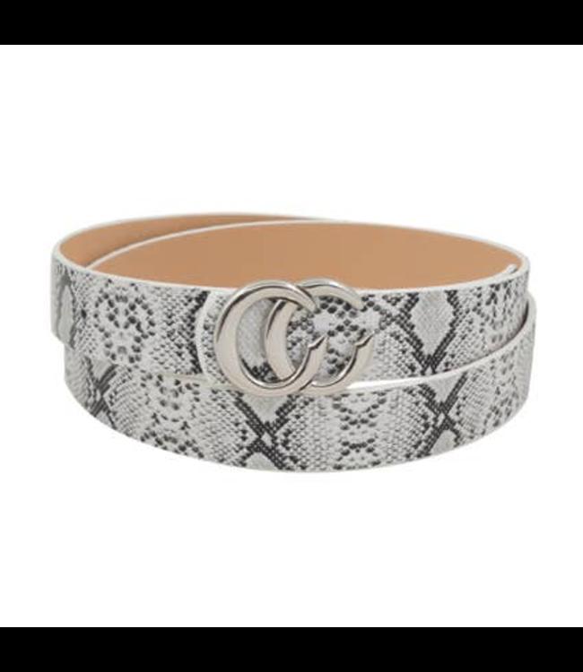 #wearfnf CC Snake Belt - GREY