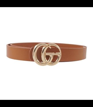 #wearfnf GE Belt Buckle Belt - TAN