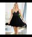 #wearfnf Crochet Lace Slip Dress - BLACK