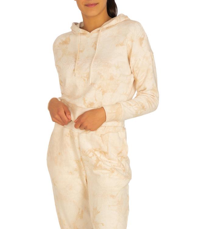 Guess Hooded Sweatshirt - DYE SHADE PEACHSKIN